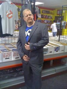 Author Photo - Comic Store