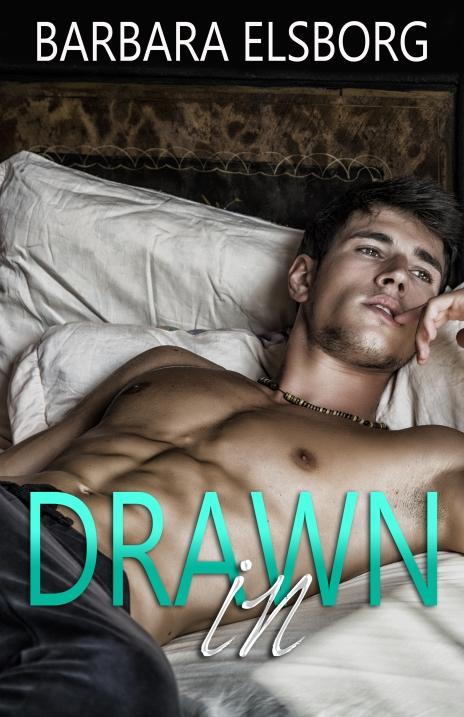 Art profile portrait of beautiful man with body of athlete. Photo.